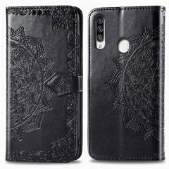 iMoshion Mandala Booktype Samsung Galaxy A20s - Zwart