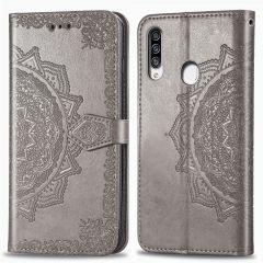 iMoshion Mandala Booktype Samsung Galaxy A20s - Grijs