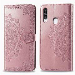 iMoshion Mandala Booktype Samsung Galaxy A20s - Rosé Goud