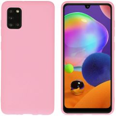 iMoshion Color Backcover Samsung Galaxy A31 - Roze