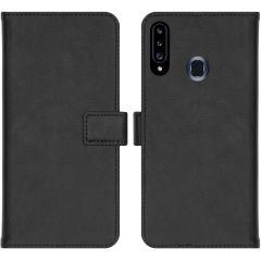 iMoshion Luxe Booktype Samsung Galaxy A20s - Zwart