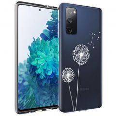 iMoshion Design hoesje Samsung Galaxy S20 FE - Paardenbloem - Wit