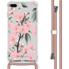 iMoshion Design hoesje met koord iPhone 8 Plus / 7 Plus - Bloem