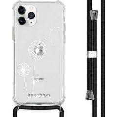 iMoshion Design hoesje met koord iPhone 11 Pro - Paardenbloem - Wit