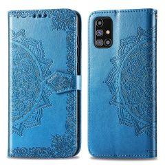 iMoshion Mandala Booktype Samsung Galaxy M31s - Turquoise