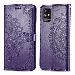 iMoshion Mandala Booktype Samsung Galaxy M31s - Paars