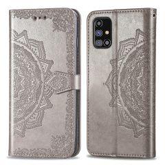 iMoshion Mandala Booktype Samsung Galaxy M31s - Grijs