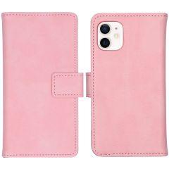 iMoshion Luxe Booktype iPhone 12 Mini - Roze