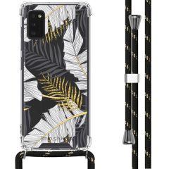 iMoshion Design hoesje met koord Samsung Galaxy A41 - Bladeren