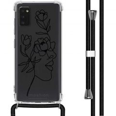 iMoshion Design hoesje met koord Samsung Galaxy A41