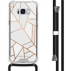 iMoshion Design hoesje met koord Samsung Galaxy S8 - Grafisch Koper