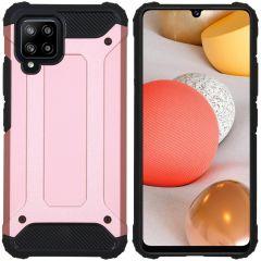 iMoshion Rugged Xtreme Backcover Samsung Galaxy A42 - Rosé Goud