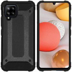 iMoshion Rugged Xtreme Backcover Samsung Galaxy A42 - Zwart