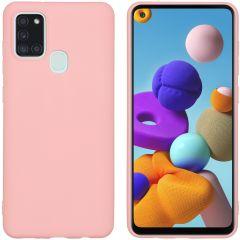 iMoshion Color Backcover Samsung Galaxy A21s - Roze