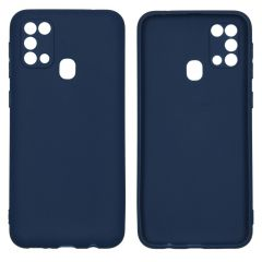 iMoshion Color Backcover Samsung Galaxy M31 - Donkerblauw