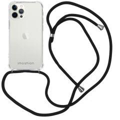iMoshion Backcover met koord iPhone 12 Pro Max - Zwart
