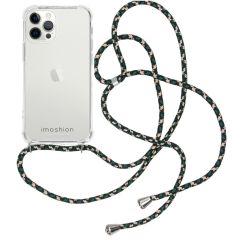 iMoshion Backcover met koord iPhone 12 Pro Max - Groen