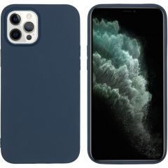 iMoshion Color Backcover iPhone 12 Pro Max - Donkerblauw