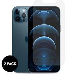 iMoshion Screenprotector Gehard Glas 2 pack iPhone 12 Pro Max