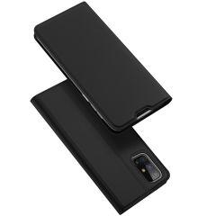 Dux Ducis Slim Softcase Booktype Samsung Galaxy M31s - Zwart
