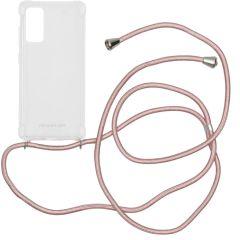 iMoshion Backcover met koord Samsung Galaxy S20 FE - Rosé Goud