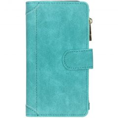 Luxe Portemonnee Samsung Galaxy A20e - Turquoise