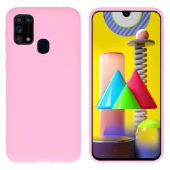 iMoshion Color Backcover Samsung Galaxy M31 - Roze