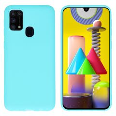 iMoshion Color Backcover Samsung Galaxy M31 - Mintgroen