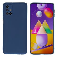 iMoshion Color Backcover Samsung Galaxy M31s - Donkerblauw