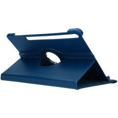 iMoshion 360° draaibare Bookcase Galaxy Tab S7 Plus - Donkerblauw