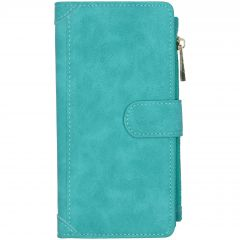 Luxe Portemonnee Samsung Galaxy A71 - Turquoise