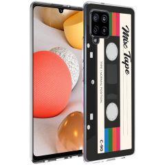 iMoshion Design hoesje Samsung Galaxy A42 - Cassette