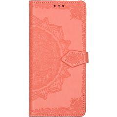 Mandala Booktype Samsung Galaxy A71 - Peach