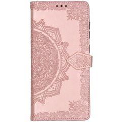 Mandala Booktype Samsung Galaxy A71 - Lichtroze
