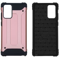 iMoshion Rugged Xtreme Backcover Samsung Galaxy Note 20 - Rosé Goud