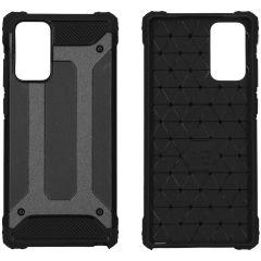 iMoshion Rugged Xtreme Backcover Samsung Galaxy Note 20 - Zwart