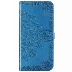 Mandala Booktype Samsung Galaxy S20 Ultra - Turquoise