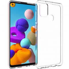 Accezz Clear Backcover Samsung Galaxy A21s - Transparant
