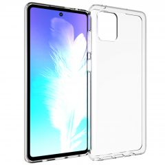 Accezz Clear Backcover Samsung Galaxy Note 10 Lite - Transparant