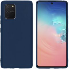 iMoshion Color Backcover Samsung Galaxy S10 Lite - Donkerblauw