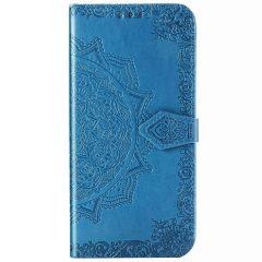 Mandala Booktype Samsung Galaxy Note 20 Ultra - Turquoise