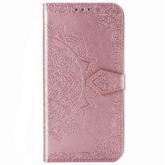 Mandala Booktype Samsung Galaxy Note 20 Ultra - Rosé Goud