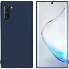 iMoshion Color Backcover Samsung Galaxy Note 10 - Donkerblauw