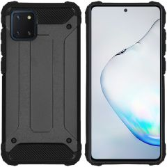 iMoshion Rugged Xtreme Backcover Samsung Galaxy Note 10 Lite - Zwart