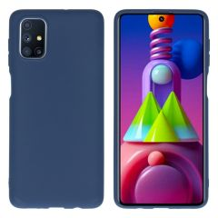 iMoshion Color Backcover Samsung Galaxy M51 - Donkerblauw