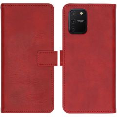 iMoshion Luxe Booktype Samsung Galaxy S10 Lite - Rood