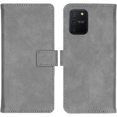 iMoshion Luxe Booktype Samsung Galaxy S10 Lite - Grijs