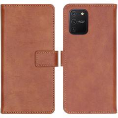 iMoshion Luxe Booktype Samsung Galaxy S10 Lite - Bruin