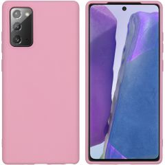 iMoshion Color Backcover Samsung Galaxy Note 20 - Roze