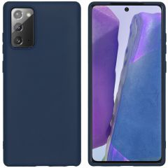 iMoshion Color Backcover Samsung Galaxy Note 20 - Donkerblauw